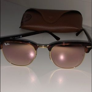 Ray Ban Clubmaster Sun Glasses